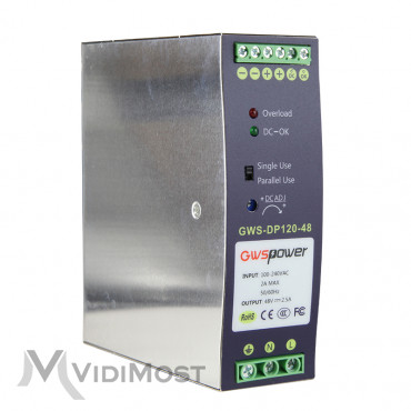 Блок живлення ONV GWS-DP120-48-1