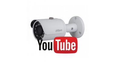 Трансляція на Youtube з відеокамер Dahua без аудіо