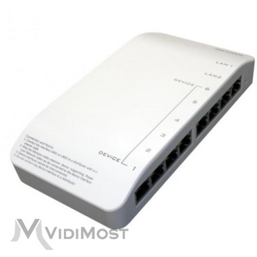 Комутатор для IP систем Hikvision DS-KAD606-N - Фото №1