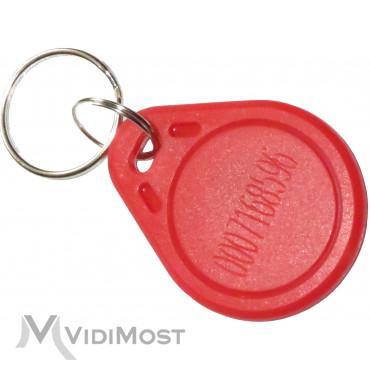 Ключ Proxymity-key Mifare 1К red - Фото №2