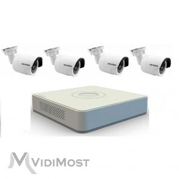 Комплект TurboHD відеоспостереження Hikvision DS-J142I/7104HGHI-SH