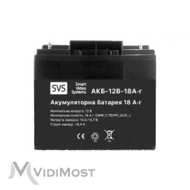 Акумуляторна батарея SVS АКБ 12В 18А/г - Фото №1