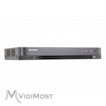 Відеореєстратор Hikvision DS-7204HQHI-K1 (4 аудіо+4/1 тривога)
