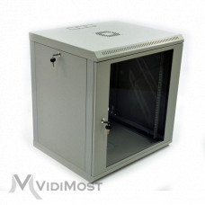 Шафа CMS-MGSWL 12U, 600x600x640 сіра