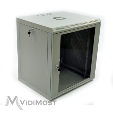 Шафа CMS-MGSWL 12U, 600x600x640 сіра-1