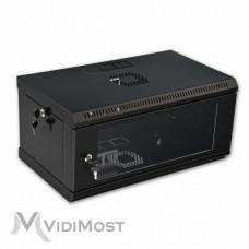 Шафа CMS MGSWL 4U, 600x350x284 чорна