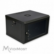 Шафа CMS MGSWL 6U, 600x500x373 чорна