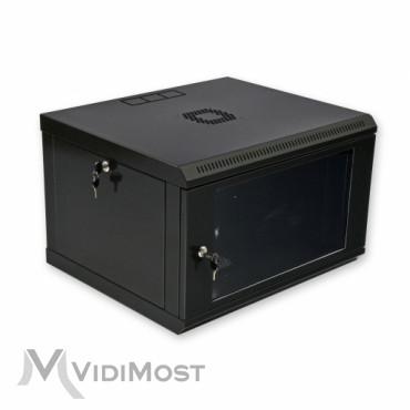 Шафа CMS MGSWL 6U, 600x500x373 чорна-1
