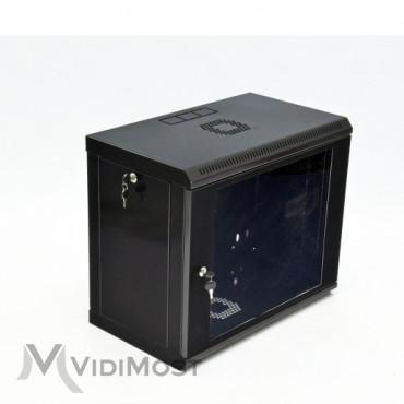 Шафа CMS MGSWL 9U, 600x350x507 чорна-1