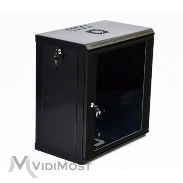 Шафа CMS MGSWL 12U, 600x350x640 чорна-1