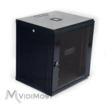 Шафа CMS MGSWL 12U, 600x600x640 чорна-1