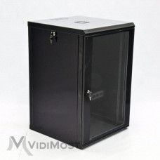 Шафа CMS MGSWL 18U, 600x600x907 чорна