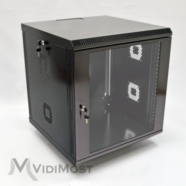 Шафа CMS MGSWA 12U, 600х600х640 чорна-1