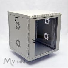Шафа CMS MGSWA 12U, 600х600х640 сіра