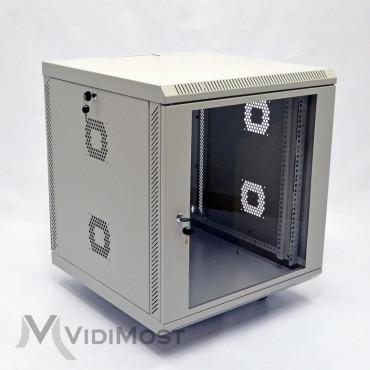 Шафа CMS MGSWA 12U, 600х600х640 сіра-1