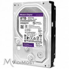 Жорсткий диск Western Digital Purple 8Тб WD82PURZ