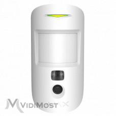 Датчик руху с камерою Ajax MotionCam білий
