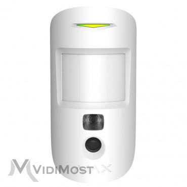 Датчик руху с камерою Ajax MotionCam білий-1