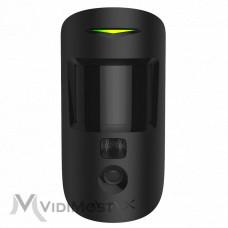 Датчик руху с камерою Ajax MotionCam чорний