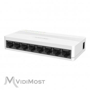 Комутатор Hikvision DS-3E0108D-E-1
