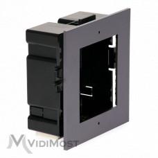 Врізна монтажна рамка Hikvision на 1 модуль DS-KD-ACF1/Plastic