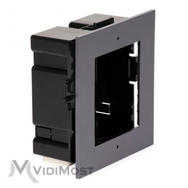Врізна монтажна рамка Hikvision на 1 модуль DS-KD-ACF1/Plastic-1