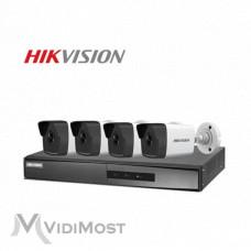 Комплект IP відеоспостереження Hikvision NK42E0H-1T(WD)