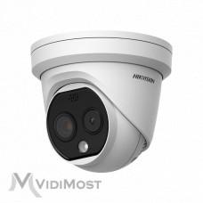 Тепловізійна IP камера Hikvision DS-2TD1217B-6/PA