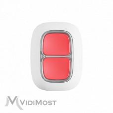 Тривожна кнопка Ajax DoubleButton біла