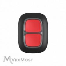 Тривожна кнопка Ajax DoubleButton чорна