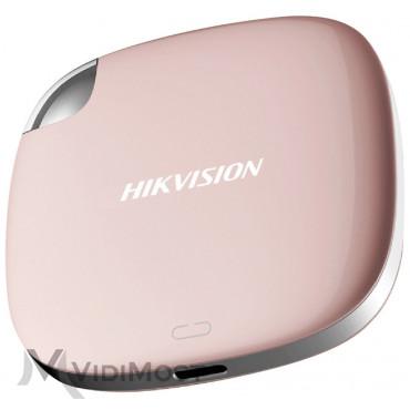 Мобільний SSD-накопичувач Hikvision HS-ESSD-T100I(120G)(ROSE GOLD)
