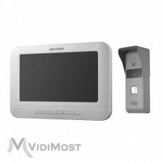 Комплект домофон + виклична панель Hikvision DS-KIS203