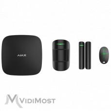 Комплект охоронної сигналізації Ajax StarterKit Plus чорний