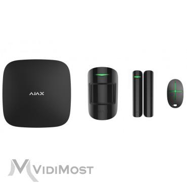 Комплект охоронної сигналізації Ajax StarterKit Plus чорний-1