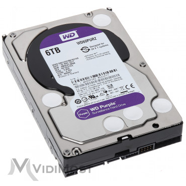 Жорсткий диск Western Digital Purple 6TB 64MB 5400rpm WD60PURZ 3.5 SATA III